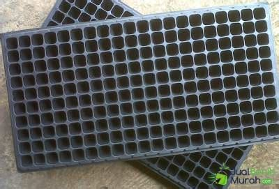 Membuat Tray Semai tray semai 200 lubang jualbenihmurah