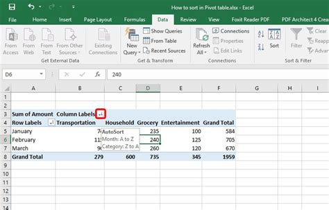 ms excel 2013 how to create a pivot table