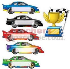 Race cars bb accents from teachersparadise com teacher supplies and
