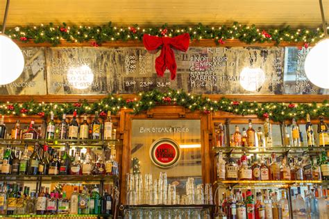 lucky colors christmas decor 8 festive nyc restaurants with dazzling decorations