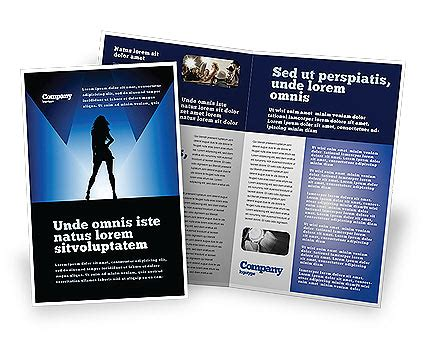 Fashion Brochure Template by Fashion Show Brochure Template Design And Layout