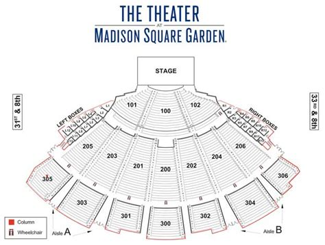 theater at square garden seating chart bod daily update september 15th 2016 s of doom