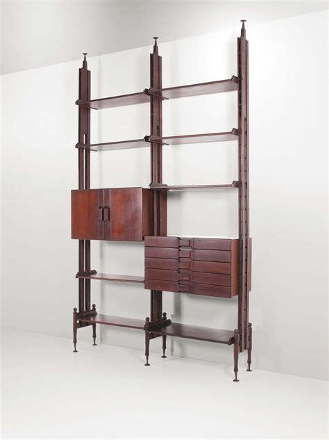 librerie metallo libreria con struttrura in legno e dettagli in metallo