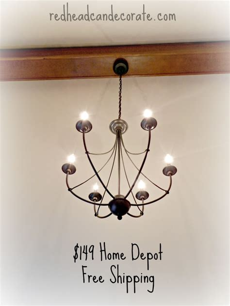 home depot light fixture rustic light fixture bedroom makeover for part 1