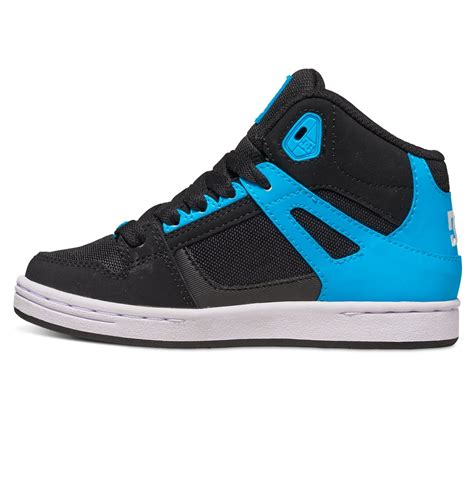 dc kid shoes kid s rebound se high top shoes adbs100204 dc shoes
