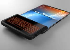 Folding screen technology revealed phone of the future beware
