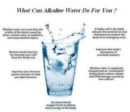 Miraculous health benefits of alkaline water aww