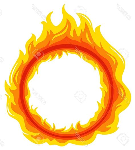 flames clipart clipart circle pencil and in color clipart