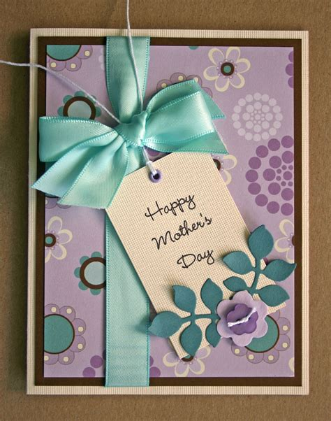 Day Cards Handmade - handmade card happy mothers day friend family