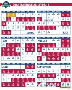 phillies home schedule phillies release 2012 schedule crossing broad