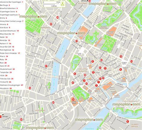printable map copenhagen maps update 15101600 copenhagen map tourist copenhagen