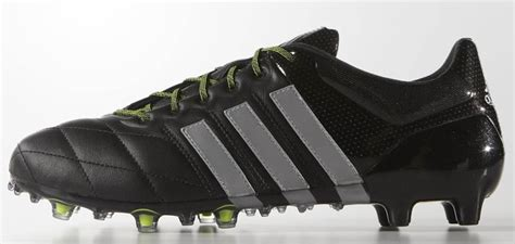 black leather ace 15 1 boots by adidas football boots