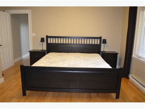 ikea hemnes king bed ikea hemnes king size bed frame and 2 night tables north