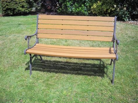 resin garden benches solid resin quot no maintenance quot garden bench victoria city