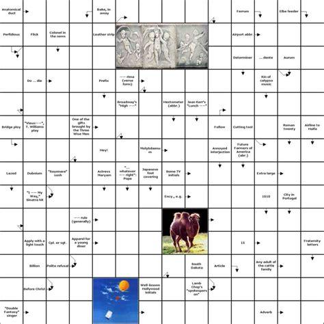 crossword clue finecrosser crossword puzzle maker make a clues in
