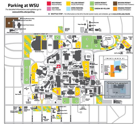 wsu map wsu cus to become a permit only parking environment wichita state news