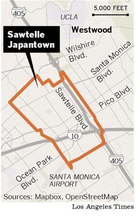 Apartments In Japantown Los Angeles Neighborhood Spotlight Sawtelle Japantown La Times