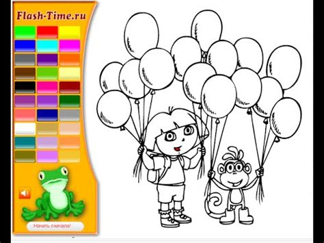 dora coloring pages youtube dora coloring pages for kids youtube