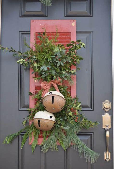 christmas bells door decoration dreamy vintage decoration ideas festival around the world