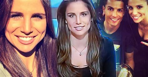 lucia villalon cristiano ronaldo new girlfriend who is lucia villalon gorgeous reporter and cristiano