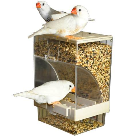 budgie seed dispender comedero aves comodore comederos