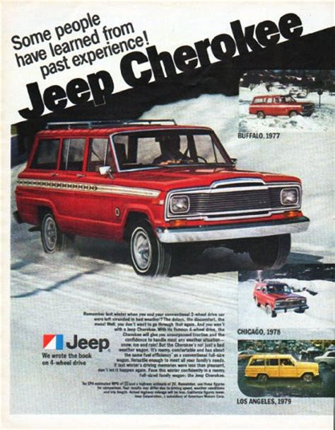 jeep cherokee ads 1980 jeep cherokee ad this is my new jeep really