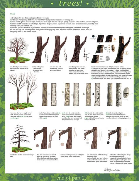 tree drawing tool tree tutorial part 2 by calisto on deviantart
