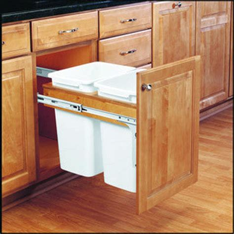 trash cans for kitchen cabinets kitchen trash cans built into cabinets or not