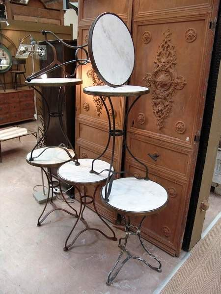square marble top bistro set of 6 french vintage iron cafe bistro with round