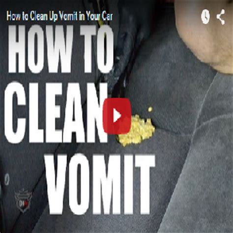 how to clean vomit from car upholstery car interior cleaning products archives detail king