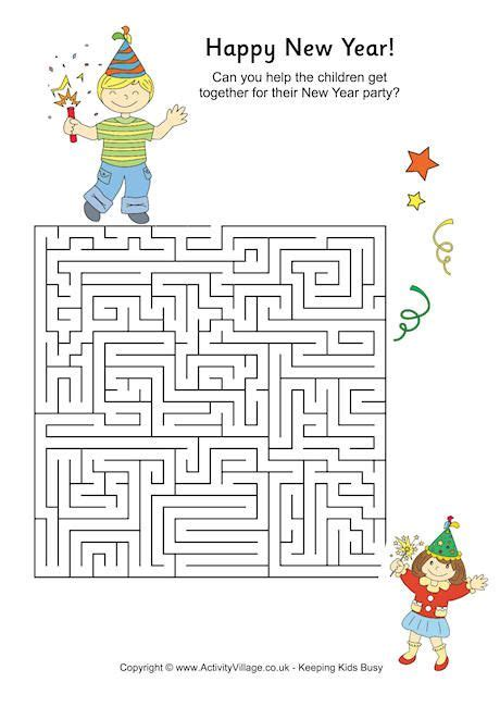 new year activities in markham new year maze activities for at new year activity