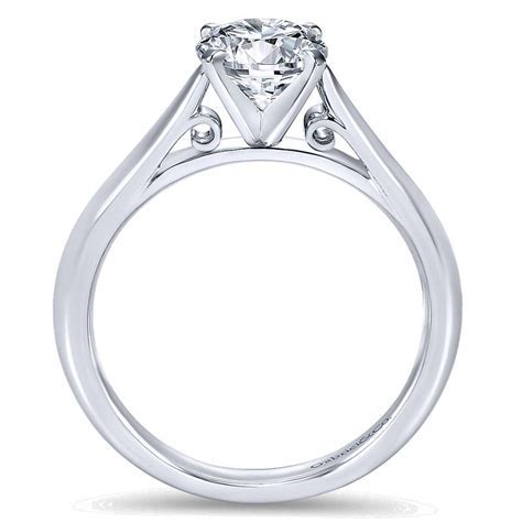 Cathedral settings engagement rings   Engagement rings