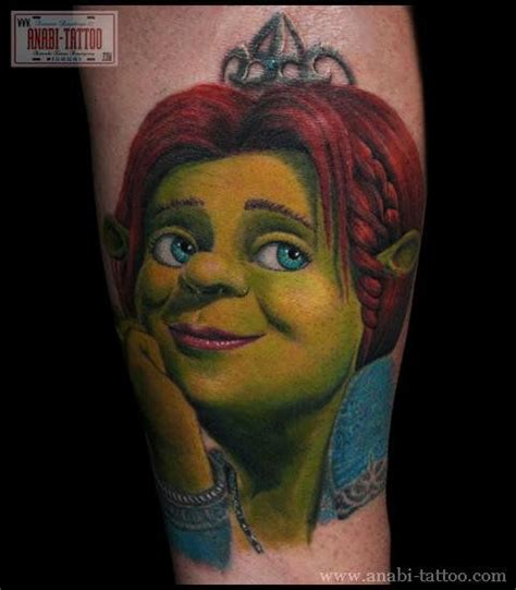 shrek tattoo 71 best images about shrek on bad tattoos