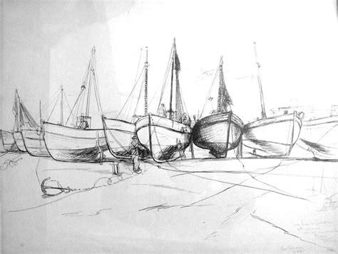 dessin bateau perspective boris taslitzky dessins paysages