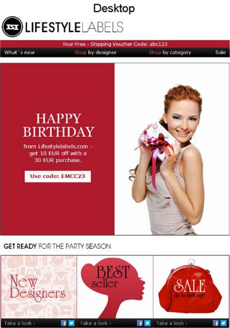 Mudpie Happy Birthday To Us Email Newsletter Exles Email Newsletter Exles Birthday Newsletter Template Free