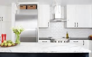 beautiful How To Pick A Kitchen Backsplash #1: white-porcalein-subway-backsplash-tile.jpg