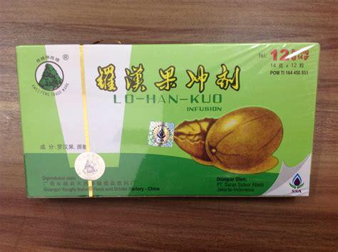 Teh Lo Han Kuo jual lo han kuo infusion teh toko obat