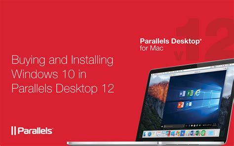 install windows 10 parallels how to buy and install windows 10 in parallels desktop 12