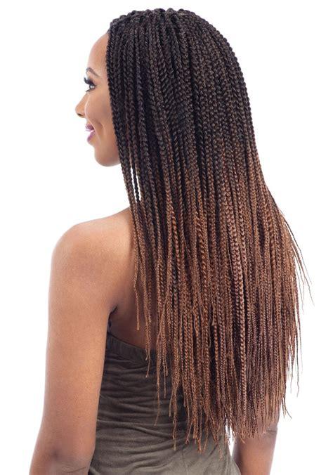 feathered hair braids freetress crochet braid pre feathered box braid 20 inch