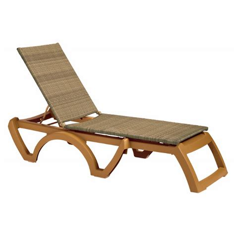 resin chaise lounges java plastic resin sling chaise lounge