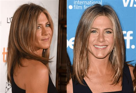 i have a olong oval head what hairstyle oval face hairstyles jennifer aniston and more celebs