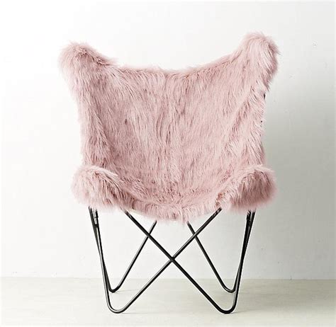 faux fur chair pink interior design products bookmarks design inspiration