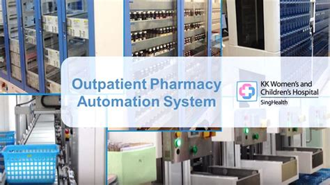 Emergency Pharmacy by Kkh Rolls Out New Robotic System At Emergency Pharmacy