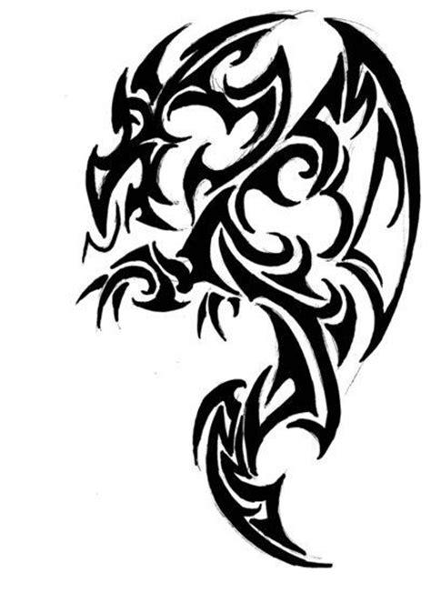 tattoo tribal dragon designs celtic tribal tattoos tattooic