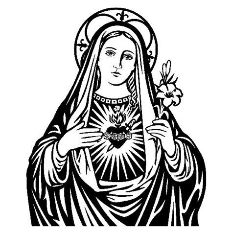 imagenes de la virgen maria a blanco y negro vinilo decorativo virgen mar 237 a