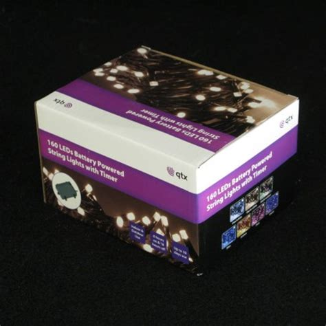 160 Led Battery Operated Timer Lights Battery Lights With Timer