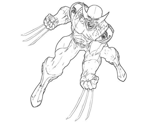 wolverine coloring pages for free printable wolverine coloring pages coloring me