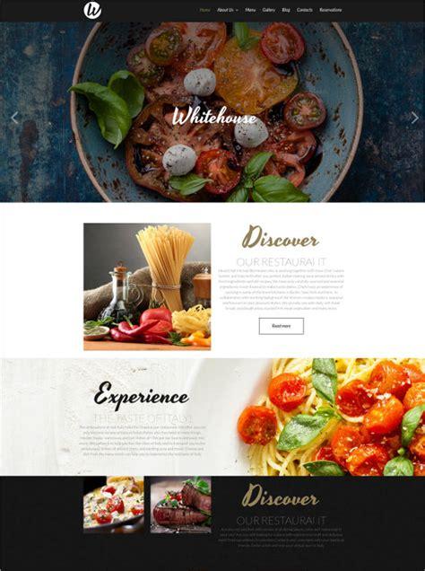34 Best Premium Restaurant Website Templates Free Premium Templates Best Restaurant Website Templates