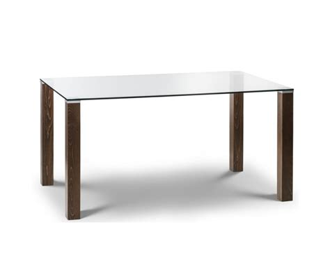 Glass Walnut Dining Table Northaven Walnut And Glass Dining Table