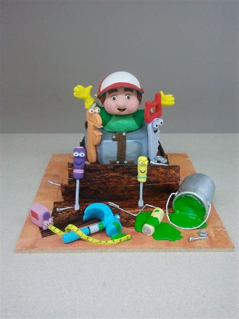 Handy Manny Paint 25 best images about cakes on happy 16th